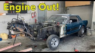 I FOUND A LOT OF RUST WHEN STRIPPING MY BURNED 1965 Ford Mustang Rebuilding a Burned Mustang Part2