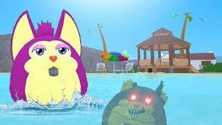 Tattletail SUMMER Vacanza in ROBLOX! (Gioco di ruolo Tattletail)