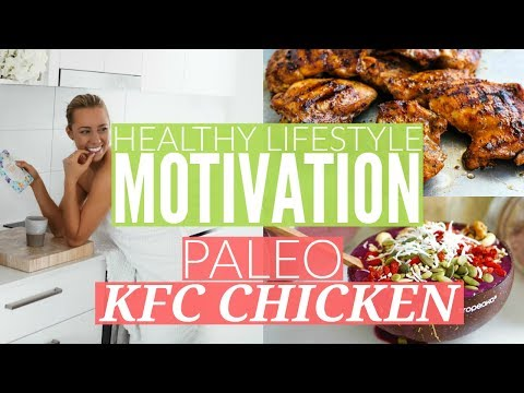 MY HEALTHY LIFESTYLE   Finding Motivation   Paleo Crumbed Chicken