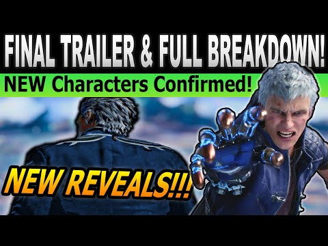 NEW Characters Confirmed and Dante Details | Devil May Cry 5 Final Trailer Breakdown thumbnail