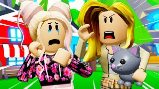She Was Adopted By The Meanest Mom In Adopt Me! (A Roblox Movie)