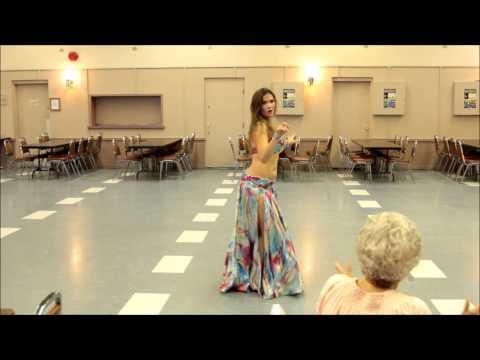 "Caribbean Fusion - ""Ragga Ragga"" Soca - danced by Cassandra Fox"