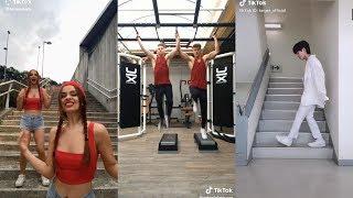 Plank Challenge TikTok Compilation  stairshuffle  PlankChallenge  TikTok Songs