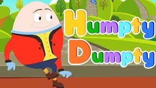 Шалтай-Болтай сидел на стене | рифма для детей | детские стишки | Humpty Dumpty Sat On A Wall