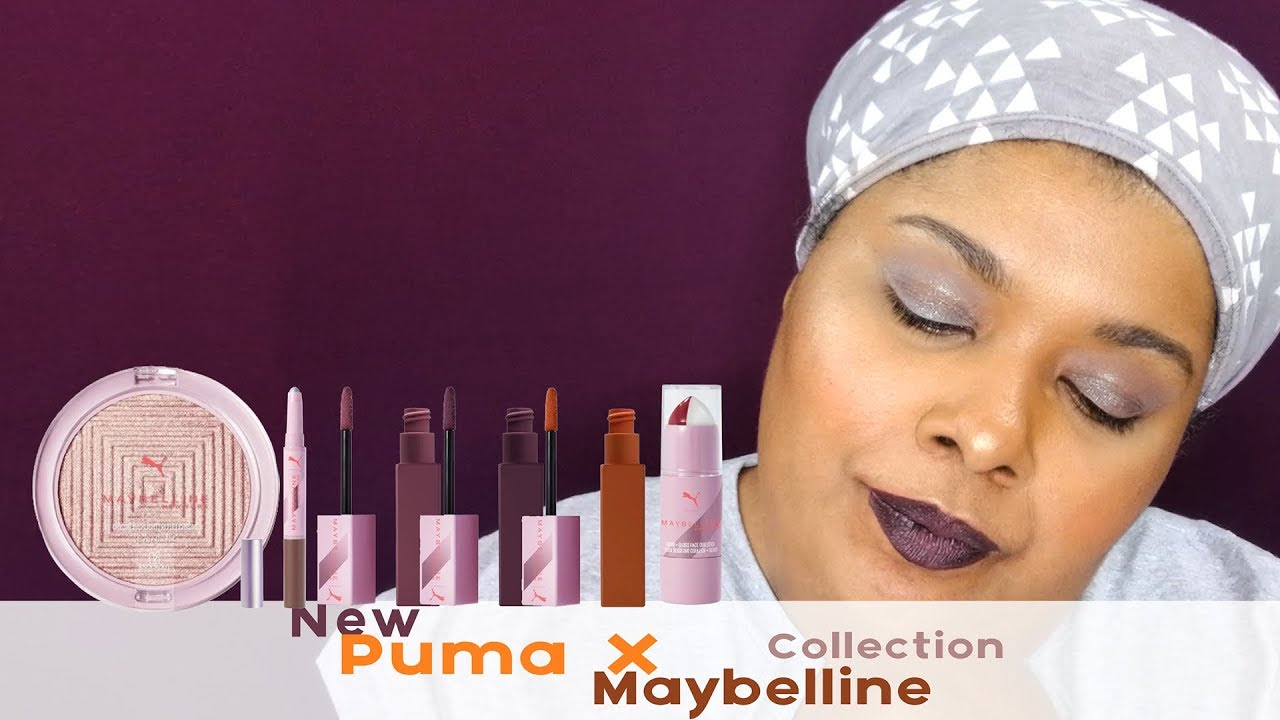 maybelline puma edition