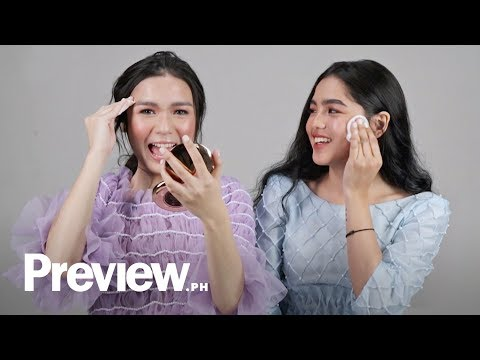 Andrea Brillantes and Francine Diaz Remove Their Makeup | Barefaced Beauty | PREVIEW