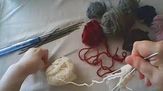 Вяжем спицами.Урок № 4. Носки на 4 спицах.Эластичная резинка.Вывязывание пятки.