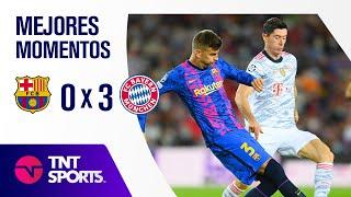 ¡GOLEADA BÁVARA! BARCELONA 0 X 3 BAYERN MÚNICH I UEFA CHAMPIONS LEAGUE