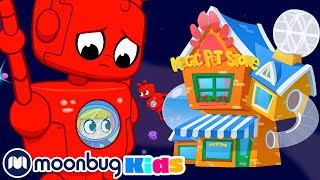 MORPHLE - Magic Pet Store in Space! Learn   ABC 123 Moonbug Kids   Fun Cartoons   Learning Rhymes