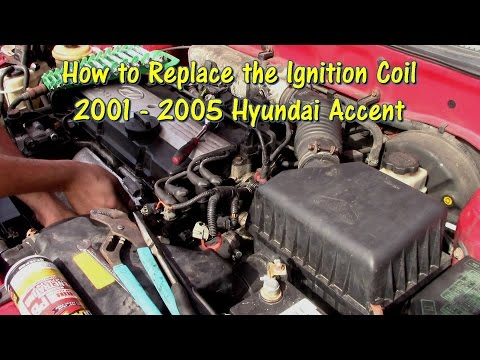 How to Replace an Ignition Coil on a 01-05 Hyundai Accent by @Gettin' Junk Done