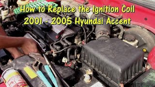 How to Replace an Ignition Coil on a 01-05 Hyundai Accent by @Gettin' Junk  Done - YouTube | Hyundai Accent Spark Plug Wiring Diagram |  | YouTube