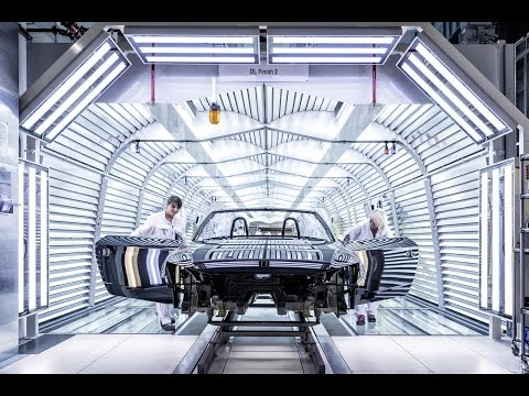 How Automotive Production Lines Work| 2017 Audi TT