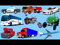 Learning Street Vehicles for Kids | Transport and Vehicles for Children | Cartoons for Children