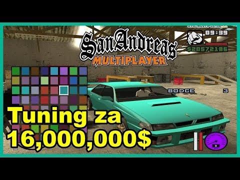 TUNING AUTA ZA 16 MILIONŮ! (GTA San Andreas Multiplayer #60)