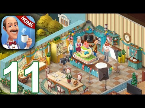 HOMESCAPES Story Walkthrough Gameplay Part 11 - Day 11 (iOS Android)