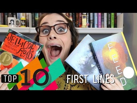 Top 10 First Lines in YA | Shatter Me, Uglies, Truthwitch & More!