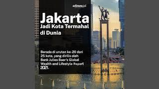 Jakarta Kota Termahal di Dunia