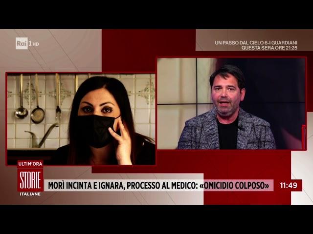 Muore incinta e ignara di esserlo - Storie Italiane 15/04/2021