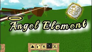[*NEW*] ANGEL ELEMENT!! | Roblox Elemental Battlegrounds