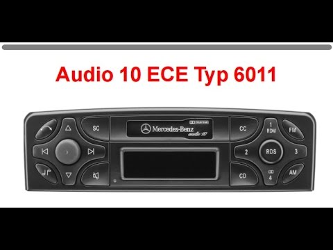 How to unlock your car radio mercedes becker audio 10 for Mercedes benz radio code