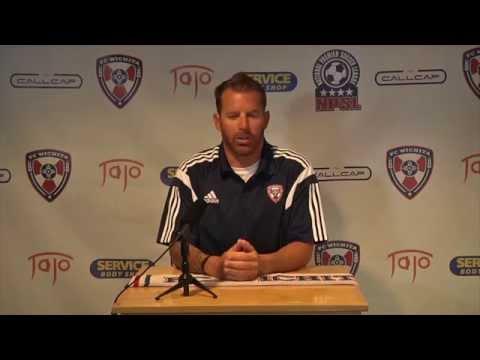 Jamie Harding coaching announcement w FC Wichita
