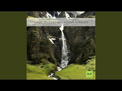 Binaural AsMr Nature Sound of a Waterfall in Switzerland