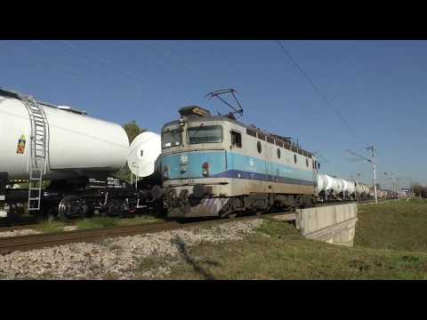 (HD) Croatia -  A busy afternoon at Gajnice - 19/10/17 with HŽ 2044 action!