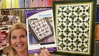 A REQUEST?? We Can Do That!!! Pirouette Quilt Pattern Tutorial :)