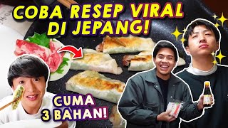 Download lagu COBA MASAK PAKE RESEP VIRAL DI JEPANG! CUMA 3 BAHAN!?