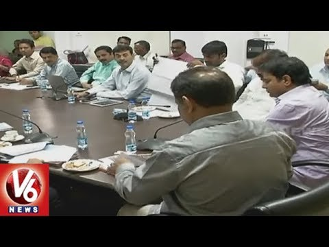 Minister KTR Holds Review Meet With CS SP Singh Over Budvel IT Cluster | V6  News