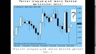 Лучшая книга по техническому анализу Рынка Форекс -Торговая система Расчёт следующей свечи Беляев