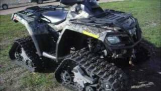 Can Am Outlander 650 XT Quad w/ Power Steering & Apache Track Kit