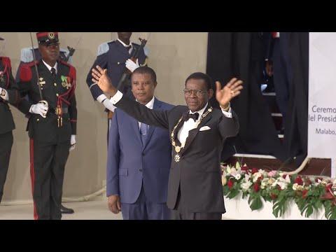 Obiang Nguema Sworn in as Equatorial Guinea