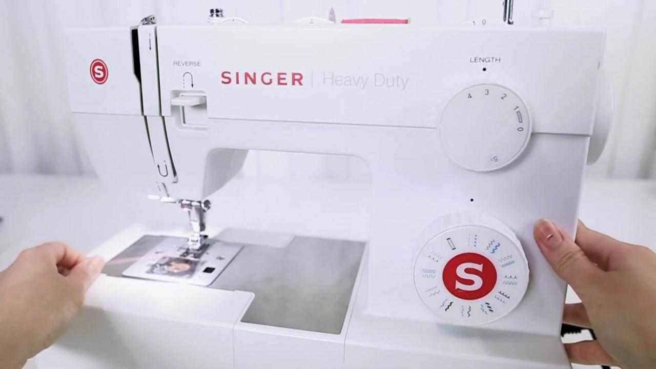 【SINGER 勝家 5523 家用縫紉機使用教學】01縫紉機介紹 - YouTube