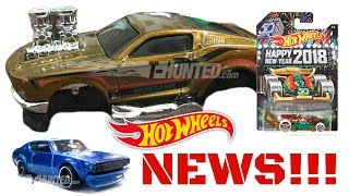 Hot Wheels 2018 Super Treasure Hunt Revealed + More NEWS!!!