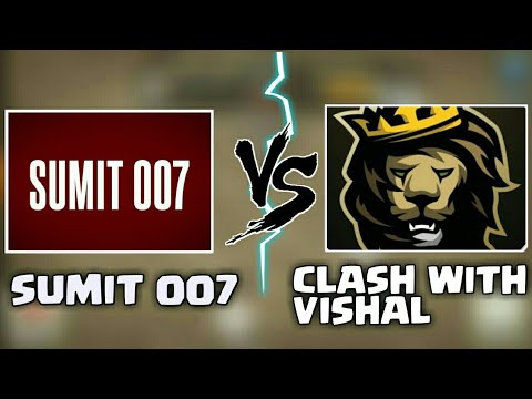 🔥SUMIT 007 VS CLASHING WITH VISHAL|TH9 3 STAR CHALLANGE| SUMIT 007|CLASH OF CLANS