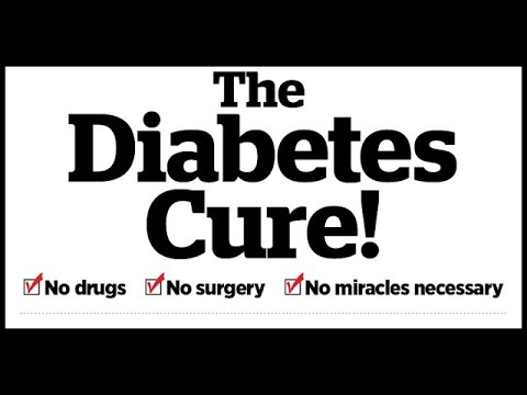 How To Cure Diabetes Permanently || Kill Diabetes Forever