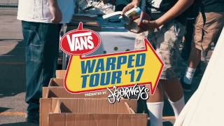 Vans Warped Tour 2017 - Neck Deep Bumper