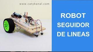 Como hacer tu robot seguidor de linea facil.