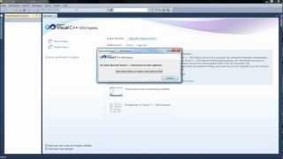 Tutorial C++ [Deutsch] - Download & Installation Visual Studio Express C++