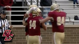 Boston College Football Spring Game Highlights (2018)