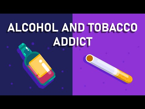 What happens if You are An Alcohol and Tobacco Addict? – Effects on Brain and Body