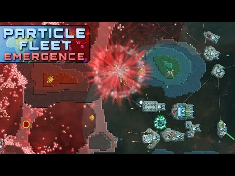 I Have My Own SpaceShip Fleet! - Particle Fleet Emergence Gameplay Part 1