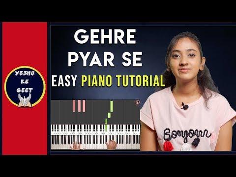 Gehre Pyar Se Tune Pyar Kiya - Chords & Notes Chart