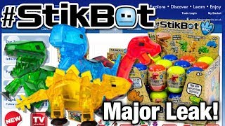 Stikbot Dinosaurs Leak!   Stikbot Leaks