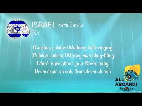 Netta - Toy (Israel) [Karaoke Version]