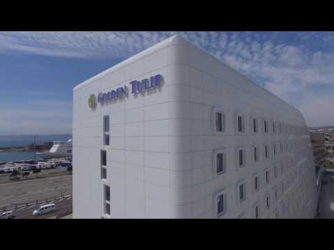 Golden Tulip Marseille Euromed Drone view