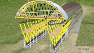 Carro MK per gallerie naturali - ULMA Construction [it]