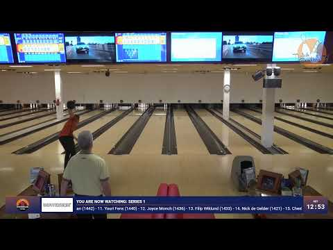 900 Global Sportbowling Tour 2019-2020 Stop 4 (Eindhoven) Series 1
