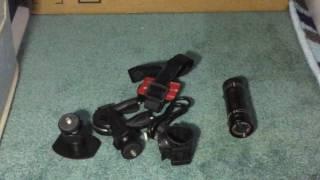 powerlead caue pc6 mini sports camera 1080p full hd action waterproof sport helmet bike helmet video